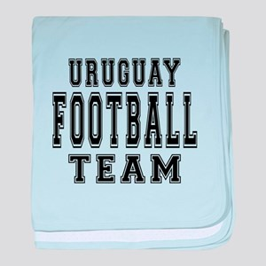Uruguay Football Team baby blanket