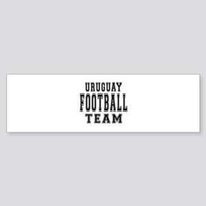 Uruguay Football Team Sticker (Bumper)