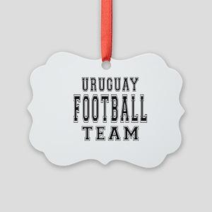 Uruguay Football Team Picture Ornament