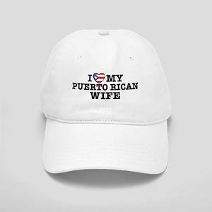 I Love My Puerto Rican Wife Cap