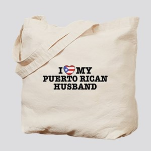 I Love My Puerto Rican Husband Tote Bag