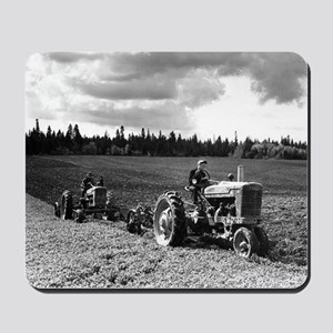 Plowing in 1950 Mousepad