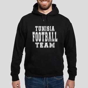 Tunisia Football Team Hoodie (dark)