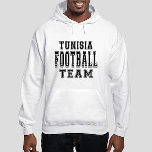 Tunisia Football Team Hooded Sweatshirt