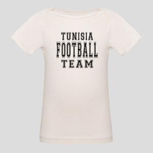 Tunisia Football Team Organic Baby T-Shirt