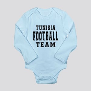 Tunisia Football Team Long Sleeve Infant Bodysuit