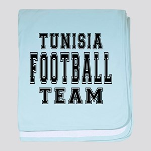 Tunisia Football Team baby blanket