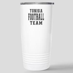 Tunisia Football Team Stainless Steel Travel Mug