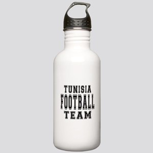 Tunisia Football Team Stainless Water Bottle 1.0L