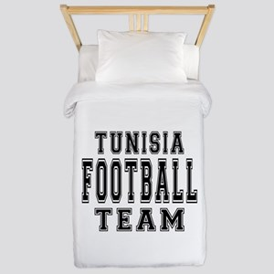 Tunisia Football Team Twin Duvet