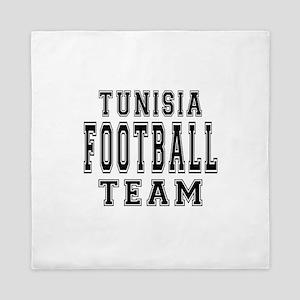 Tunisia Football Team Queen Duvet