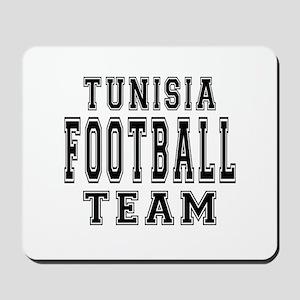 Tunisia Football Team Mousepad