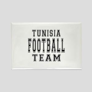 Tunisia Football Team Rectangle Magnet