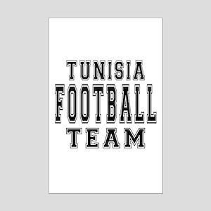 Tunisia Football Team Mini Poster Print