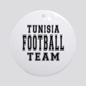 Tunisia Football Team Ornament (Round)