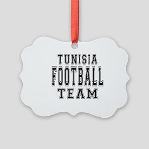 Tunisia Football Team Picture Ornament