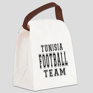Tunisia Football Team Canvas Lunch Bag