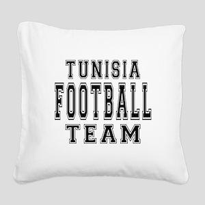 Tunisia Football Team Square Canvas Pillow
