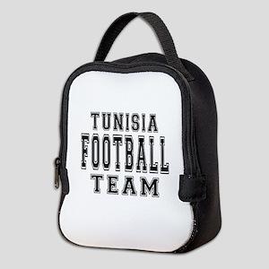 Tunisia Football Team Neoprene Lunch Bag