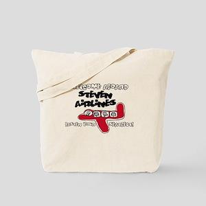 Steven Airlines Tote Bag