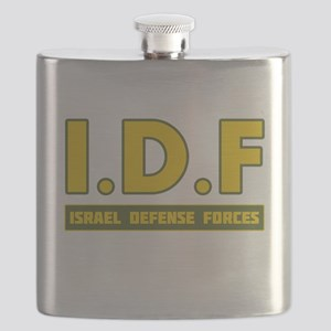 IDF Israel Defense Forces3 colorize - Big Flask