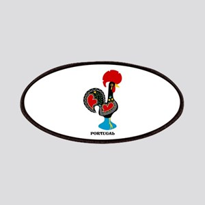 Portuguese Rooster of Luck Patches