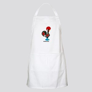Portuguese Rooster of Luck Apron