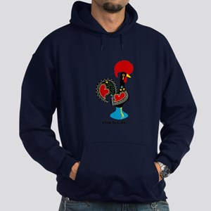 Portuguese Rooster of Luck Hoodie