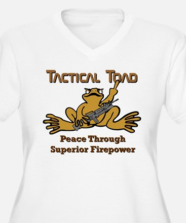 Tactical Toad Peace Through Superior Firepower Plu