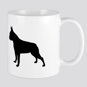 boston terrier black 2 Mugs