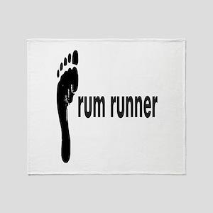 rum runner Throw Blanket