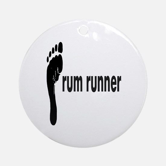 rum runner Ornament (Round)