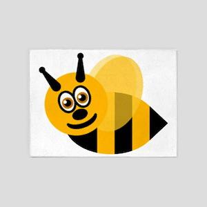 bumble bee 5'x7'Area Rug