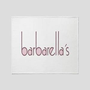 barbarellas Throw Blanket
