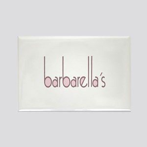 barbarellas Rectangle Magnet