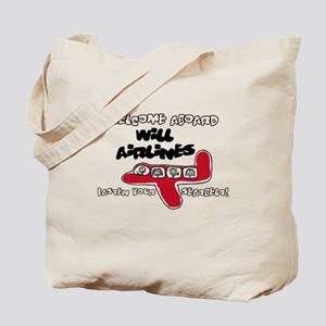 Will Airlines Tote Bag