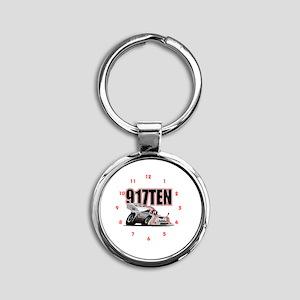 Porscha 917TEN Round Keychain
