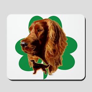 luck of Irish setter Madeline wilson Mousepad