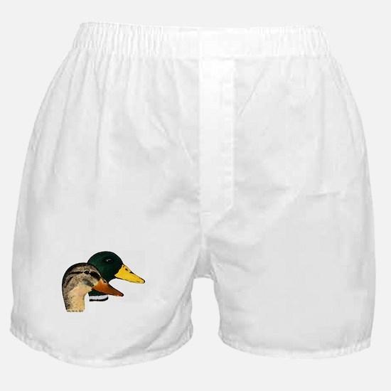 Mallard Ducks - Pair Boxer Shorts