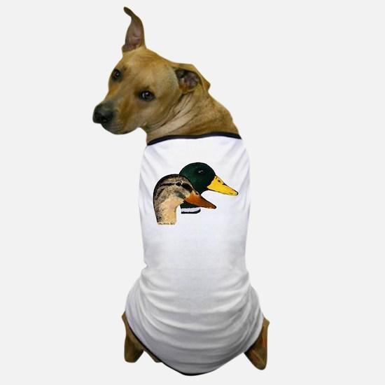 Mallard Ducks - Pair Dog T-Shirt