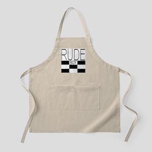 RUDE BOY Apron