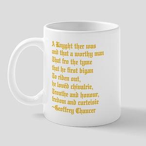 Chaucer's Knight Mug