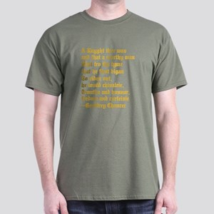 Chaucer's Knight Dark T-Shirt