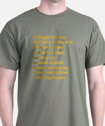 Chaucer's Knight T-Shirt