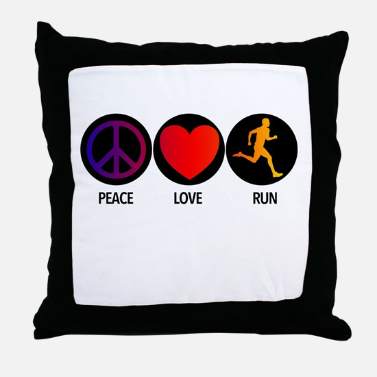 PLRUN Throw Pillow