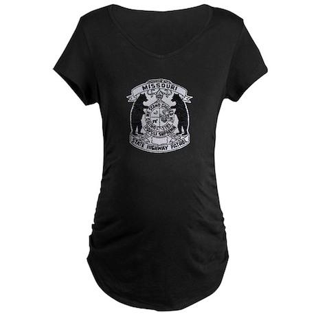 Missouri Highway Patrol Maternity Dark T-Shirt