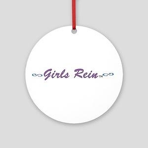 Girls Rein 1 Ornament (Round)