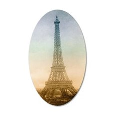 The Eiffel Tower In Paris Wall Decal