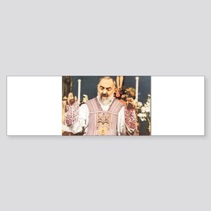 Padre Pio Stimma Bumper Sticker