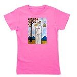 In the beginning (by Paul Hartal) Girl's Tee
